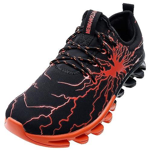 MINBEI Hombre Sneakers Zapatillas Correr Caminar Zapatos Deportivos para Hombre: Amazon.es: Zapatos y complementos