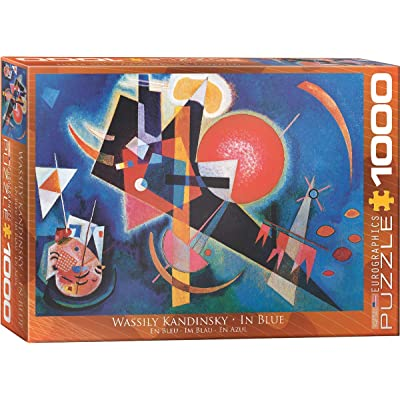 EuroGraphics in Blue by Kandinsky 1000 Piece Puzzle: Toys & Games