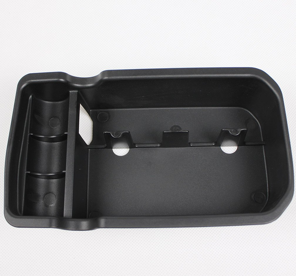 Rqing For Jeep Compass 2017 2018 Center Console Armrest Storage Box Holder Container Glove Pallet