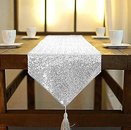 30x180cm or ShinyBeauty Chemin de table or /à paillettes 30/x 180/cm