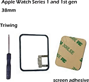 Ogodeal Force Touch Sensor Gasket Flex Cable With Adhesive Pre-installed For Apple Watch (1st Generation) And Series 1 38mm Repair