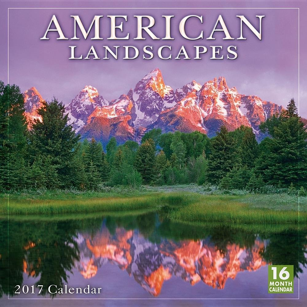 American Landscapes 2017 Wall Calendar product image