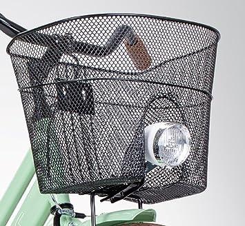Basil Panier de roue avant avec encoche Support Lampes Panier avant de vélo  panier de courses 9ace1cf0dfa