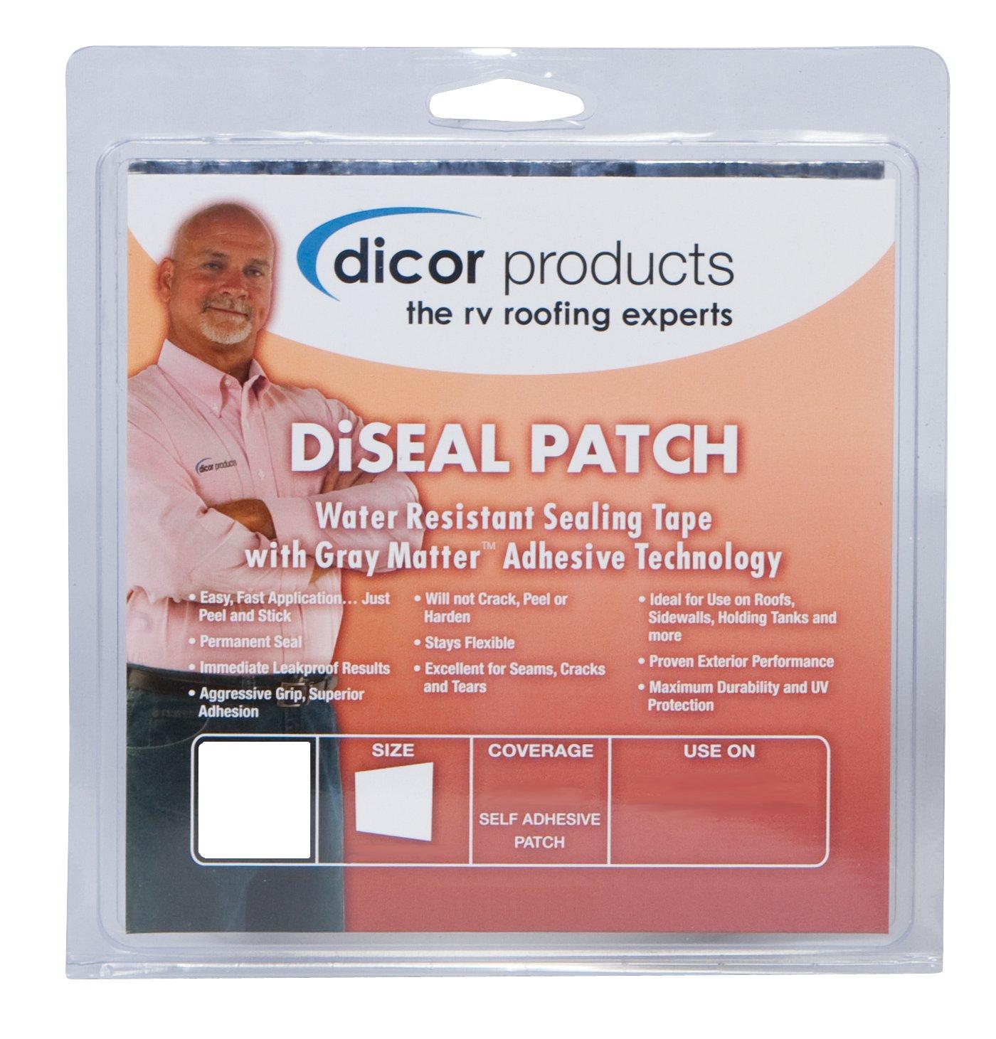 Dicor 4 Inch x 50 Foot 522TPO-450-1C Diseal Sealing Tape-White, 4'' X 50'