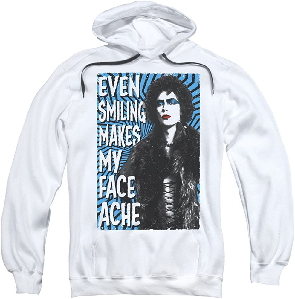 Face Ache Adult Pull-Over Hoodie Rocky Horror Picture Show