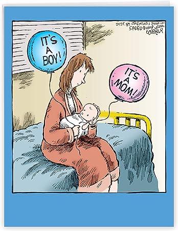 Baby Boy Card Baby Shower Card New Baby Card New Mom Card Congratulations Card Cute Baby Shower Card Pregnancy Card