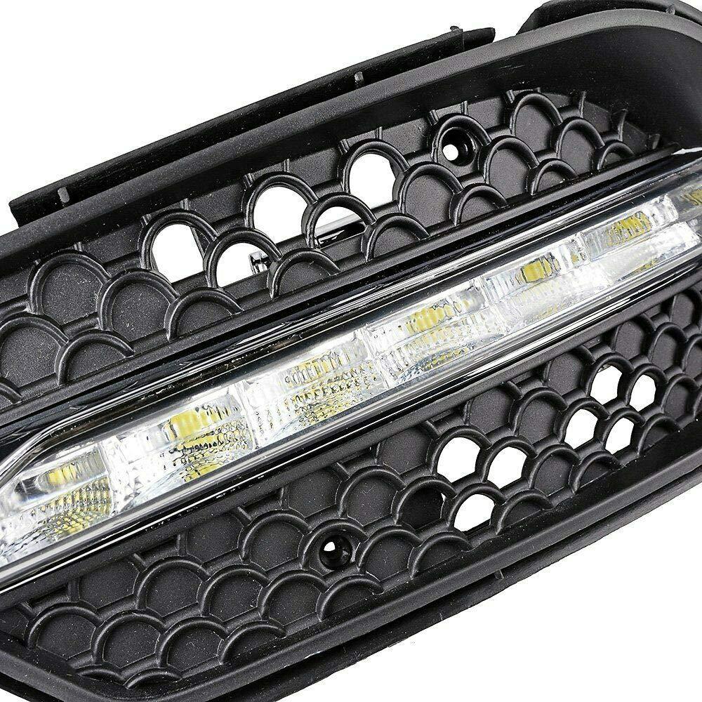 FidgetKute LED Fog Lamp DRL Daytime Running Light for Mercedes Benz W204 C Class C300 08-11