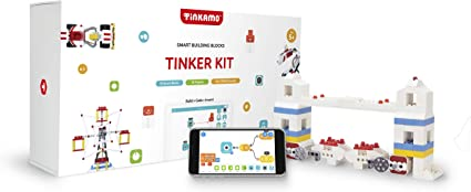 Coding Learning for Kids 5-12 Brings Toys to Life Motor Kit Compatible with Lego Technic Tinkamo Smart Building Blocks for Tech Age Kids AI-Powered