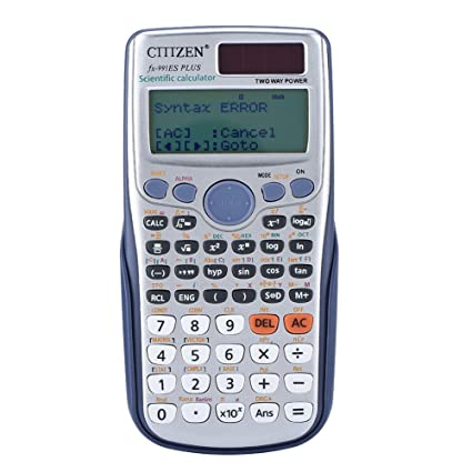 Vbestlife Handheld Scientific Full Function Calculator