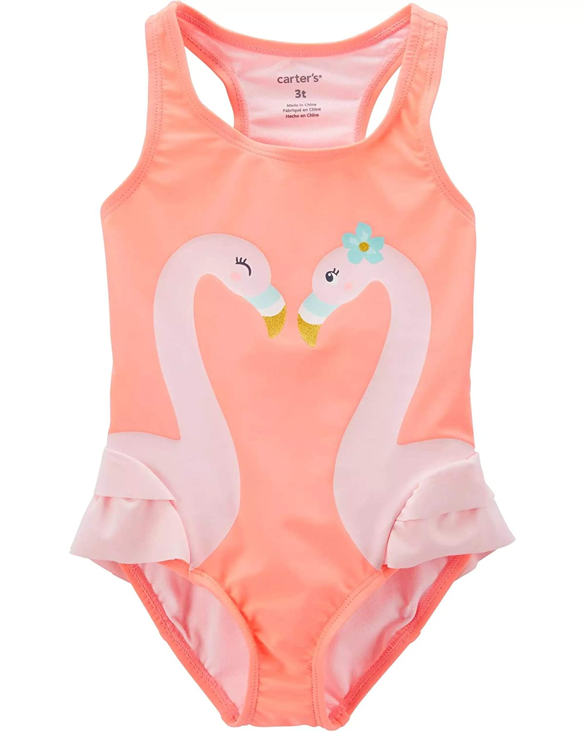 bb8b0ac8b Amazon.com: Carter's Girls' One-Piece Swimsuit: Clothing