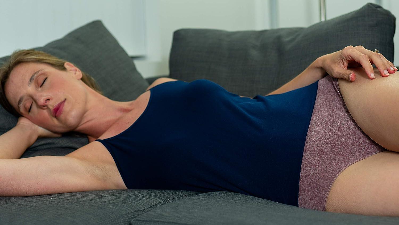 R RUXIA Womens Hipster Panties Seamless Nylon Bikini Panties Soft Stretch Underwear 5 Pack