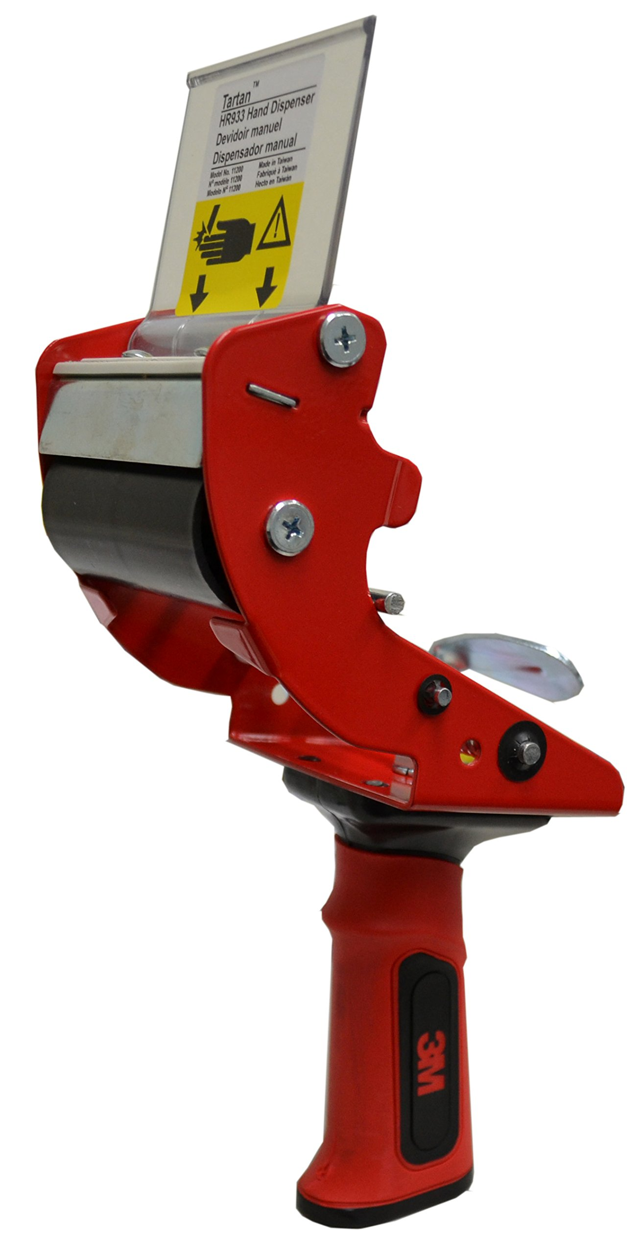 3M 3'' Heavy Duty Premium Tape Gun Dispenser - 3MTD-HB933 by Miller Supply Inc