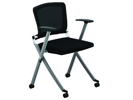folding office chair. Folding Office Chair - \u0026quot;Ziggy\u0026quot; Guest Chairs