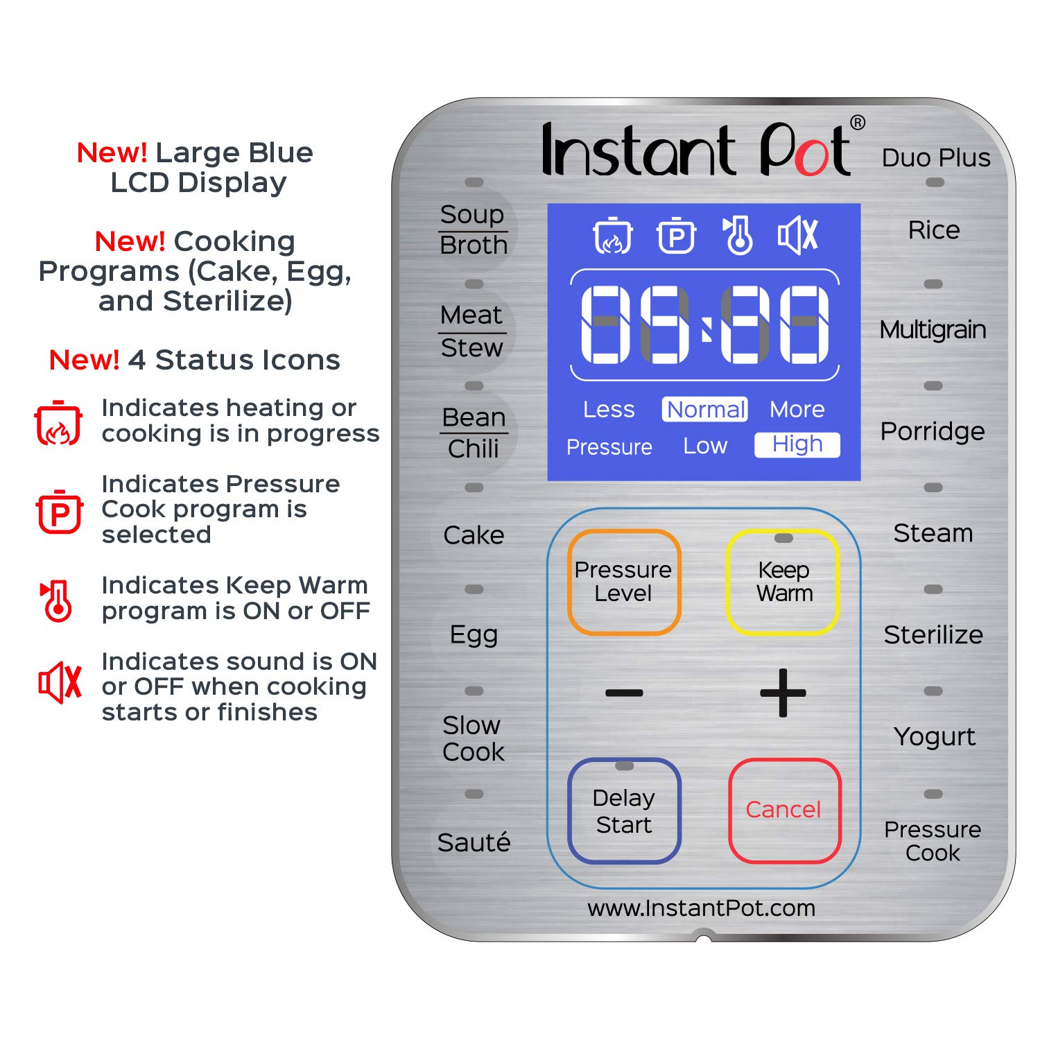 Instant Pot Duo Plus 60 6 Qt 9 In 1 Multi Use Electrical Fuse Box Cost Programmable Pressure Cooker Slow Rice Yogurt Maker Egg Saut