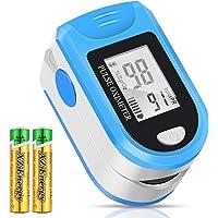 Monitor de saturación de oxígeno, pulsioxímetro de frecuencia cardíaca, dedo…
