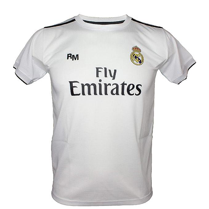 Camiseta - Personalizable - Primera Equipación Replica Original Real Madrid 2018/2019 (4 años