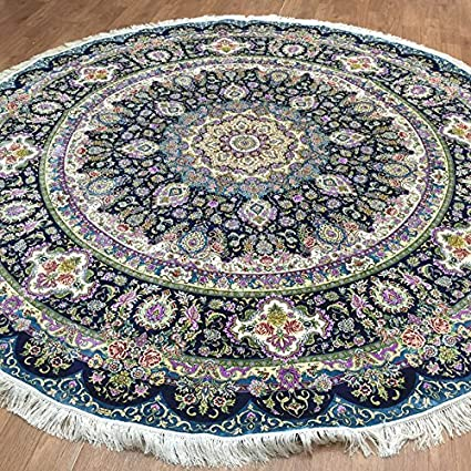 Other Home Décor Home & Garden 150cm Round Jute Round Flatweave Floor Rug Medallion Natural Mat Free Shipping