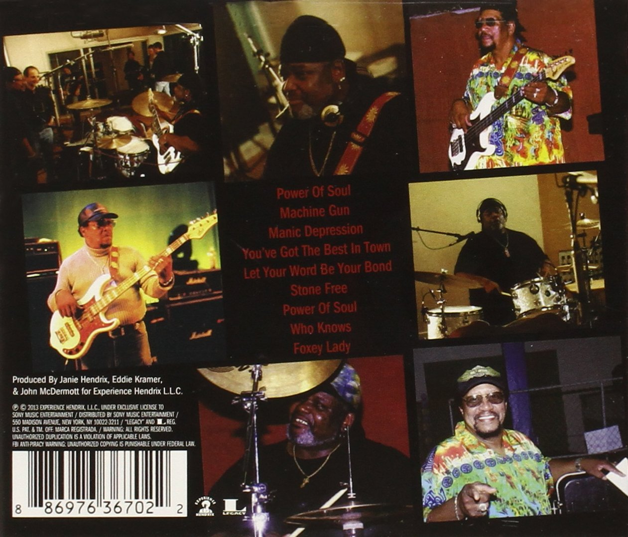 8b97434b4ca4 Billy Cox   Buddy Miles - The Band of Gypsys Return - Amazon.com Music