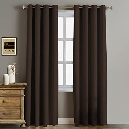 Rose Home Fashion RHF Function Curtain Blackout Curtains 96 InchBedroom