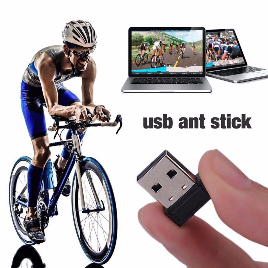 FidgetFidget USB ANT+ Recevier Sensor Cycling For Garmin New &Zwift&Wahoo&Bkool&Tacx&Onelap