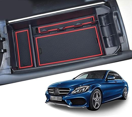 Cdefg Für Benz C Klasse Glc X253 W205 Handschuhfach Armlehne Multifunktionaler Aufbewahrung Auto Center Console Organizer Tray Innenraum Zubehöraum Zubehör Auto