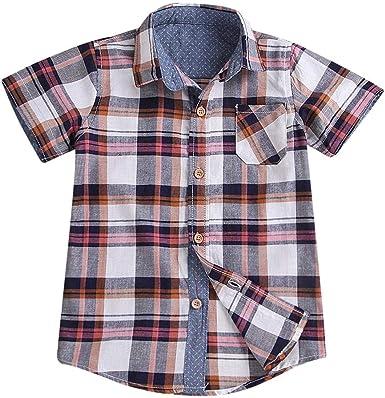 La Cabina Demiawaking - Camisa de Verano para bebé de Manga ...
