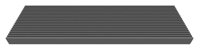 DOLLE TRIMAX-Stufe fü r Auß entreppen, Einzelstufe, 100 x 22 x 4 cm, dunkelbraun. Aus glasfaserverstä rktem Kunststoff. Sicherer Tritt, hohe Langlebigkeit, verrottungsfest und voll recyclebar.