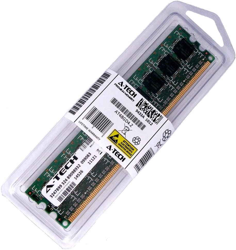 2GB Stick for Dell Vostro 230 230s. DIMM DDR3 Non-ECC PC3-8500 1066MHz RAM Memory. Genuine A-Tech Brand.