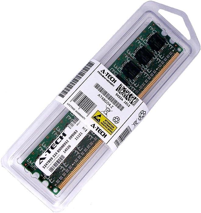 2GB Stick for HP Compaq Desktop 315eu 6000 Pro 6005 Pro Compaq 500B (AMD Models) 505B 4000 Pro 6200 Microtower DIMM DDR3 Non-ECC PC3-10600 1333MHz RAM Memory. Genuine A-Tech Brand.
