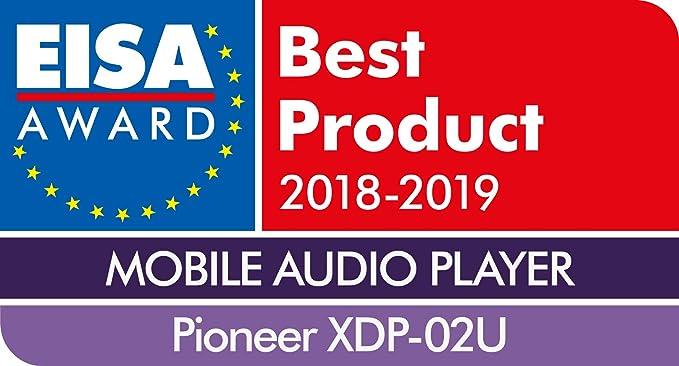 W blanc Pioneer XDP-02U Lecteur audio num/érique audio haute r/ésolution, 16 Go de m/émoire, double emplacement pour carte microSD, 15 heures de lecture, Wifi, Bluetooth, streaming