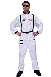 Amazon.com: Aeromax Adult Astronaut Suit with Embroidered ...