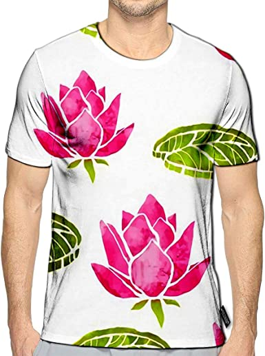 3D Printed T Shirts Leafs Floral Texture Batik Cloth Art Design Casual Mens Hipster Top Tees