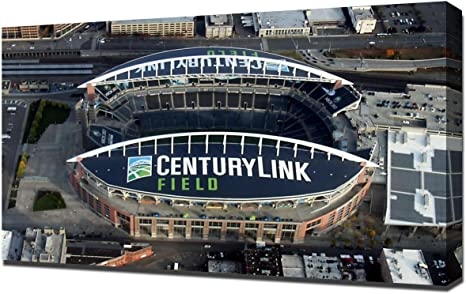 Lilarama Usa Seattle Seahawks Centurylink Field Stadium 3 Canvas Art Print Wall Art Canvas Wrap Posters Prints