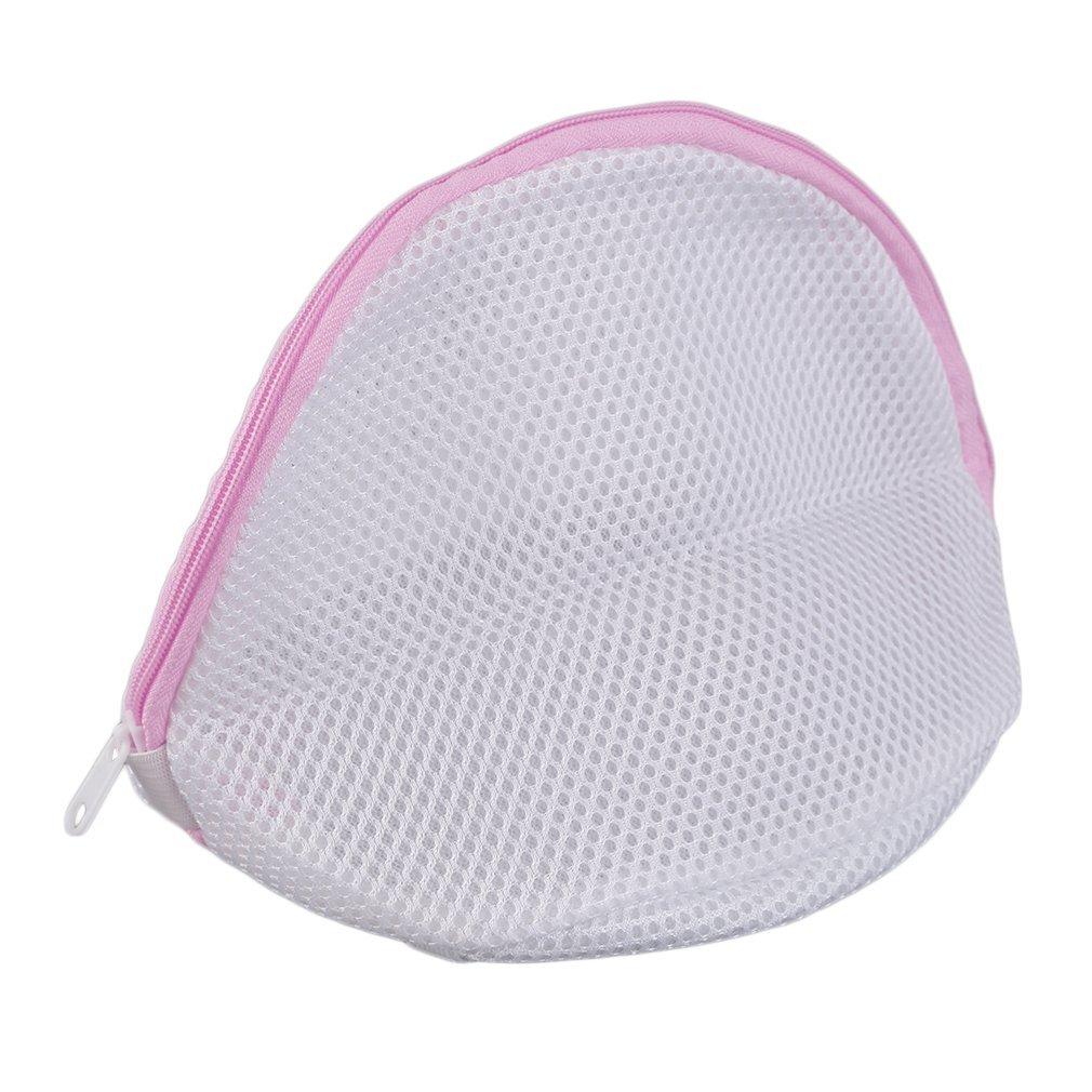 Laundry Mesh Wash Bag for Lingerie, Bras, Underwear Mechine Washing bag (White)