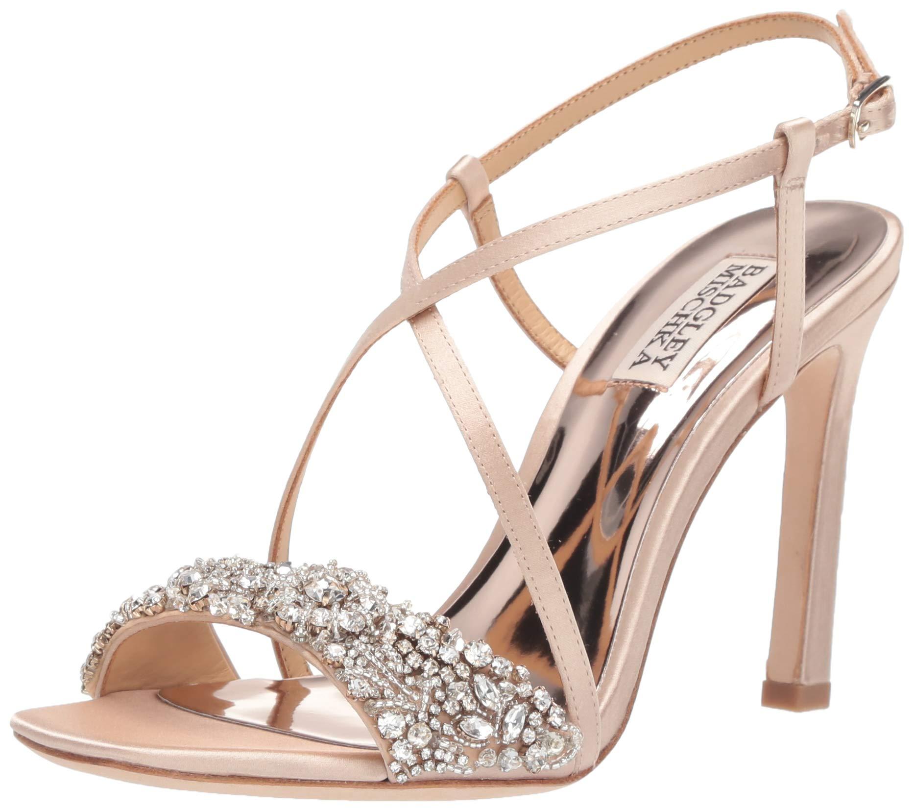 Badgley Mischka Womens Elana Heeled Sandal
