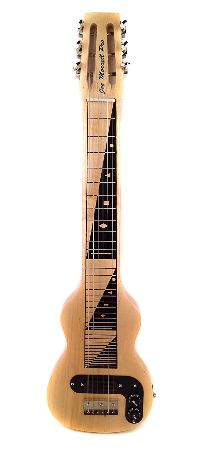 Joe Morrell Pro Series Maple Body 6-String Lap Steel - Natural Finish USA B006X0W5RM