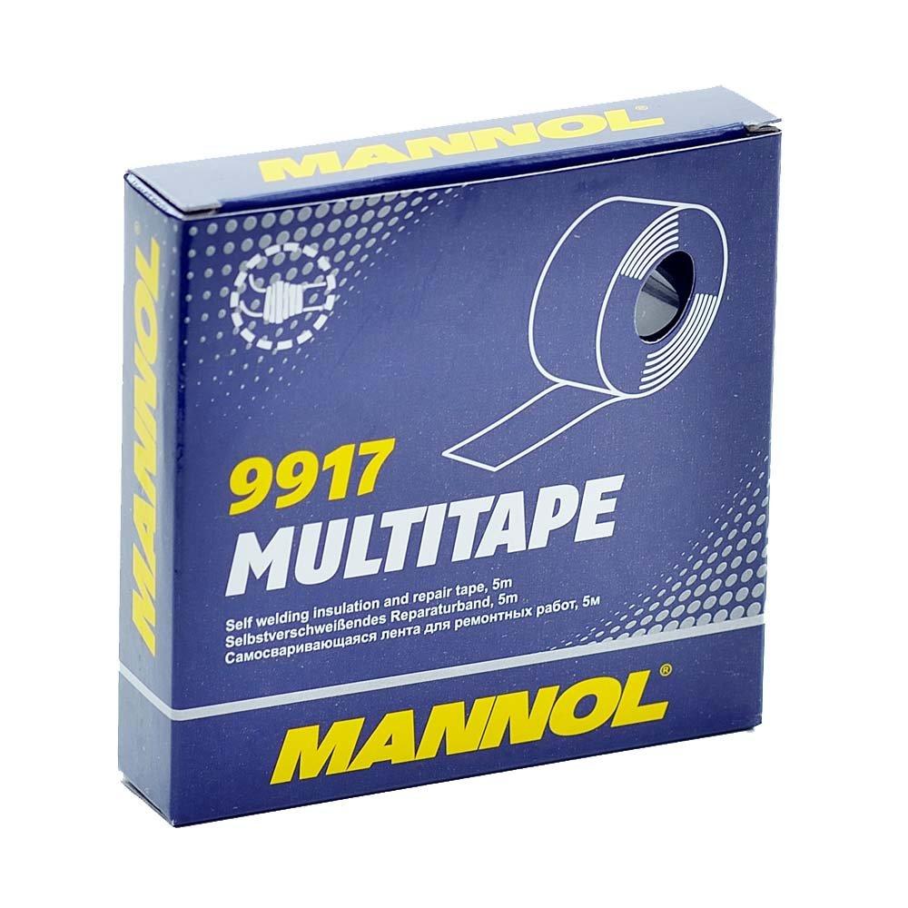 5 Rollen Isolierband Isoband Isotape Dichtband selbstverschweißend MANNOL 5m