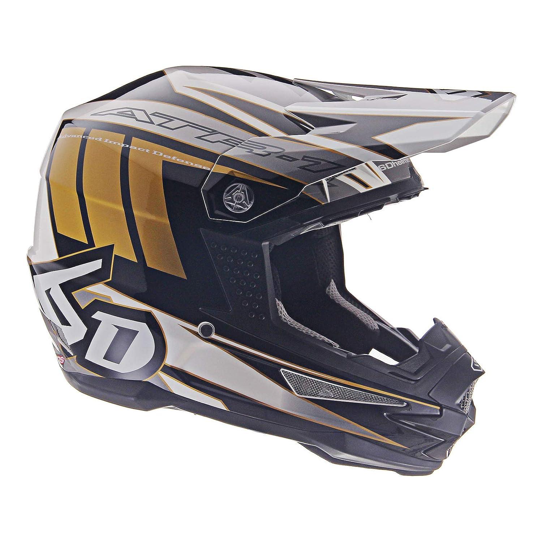 6D ATR-1 Point White Gold Helmet size Medium 6D Helmets