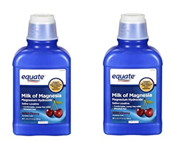 Equate Milk of Magnesia 26 Oz (2 Pack, Cherry)