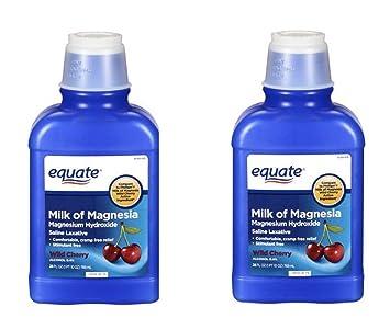 Equate Milk of Magnesia 26 Oz (2 Pack, Cherry)