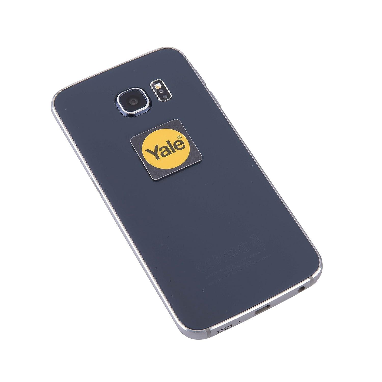 Black Twin Pack Yale Smart Door Lock Phone Tag