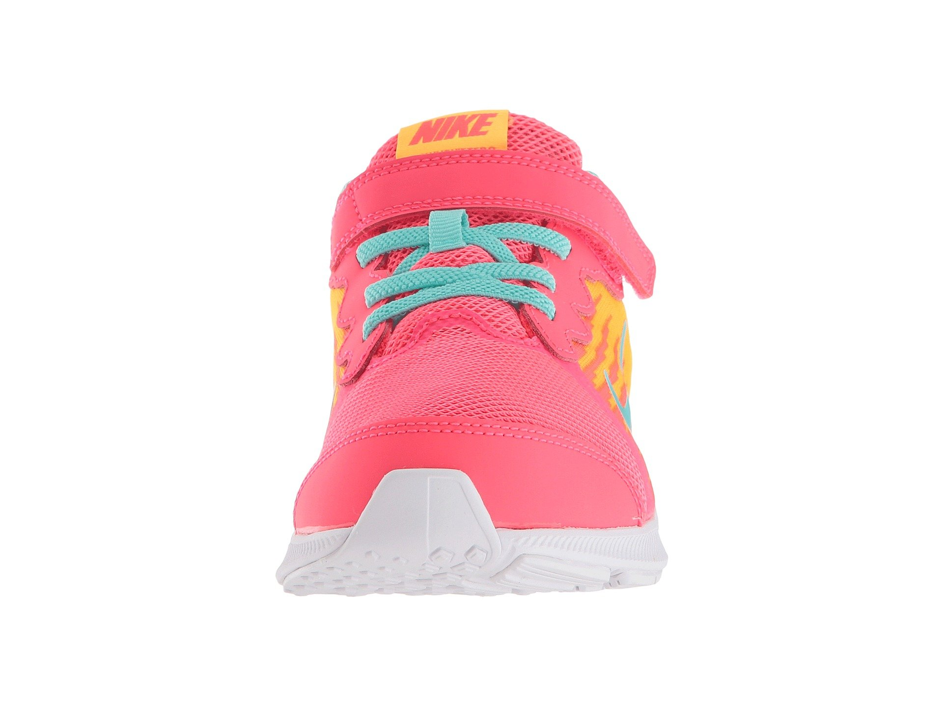 Nike Kids' Preschool Downshifter 8 Fade Running Shoes (1.5, Red/Green) by Nike (Image #5)