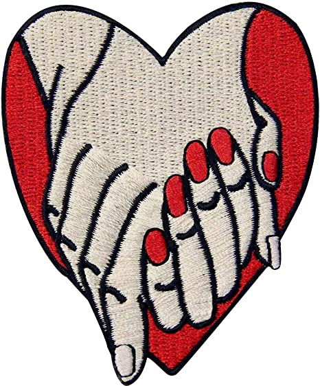 Love Sex and Dream Patch Embroidered Applique Badge Iron On Sew On Emblem