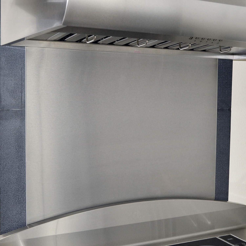 - Amazon.com: Kobe 36 X 32-inch Stainless Steel Backsplash Panel