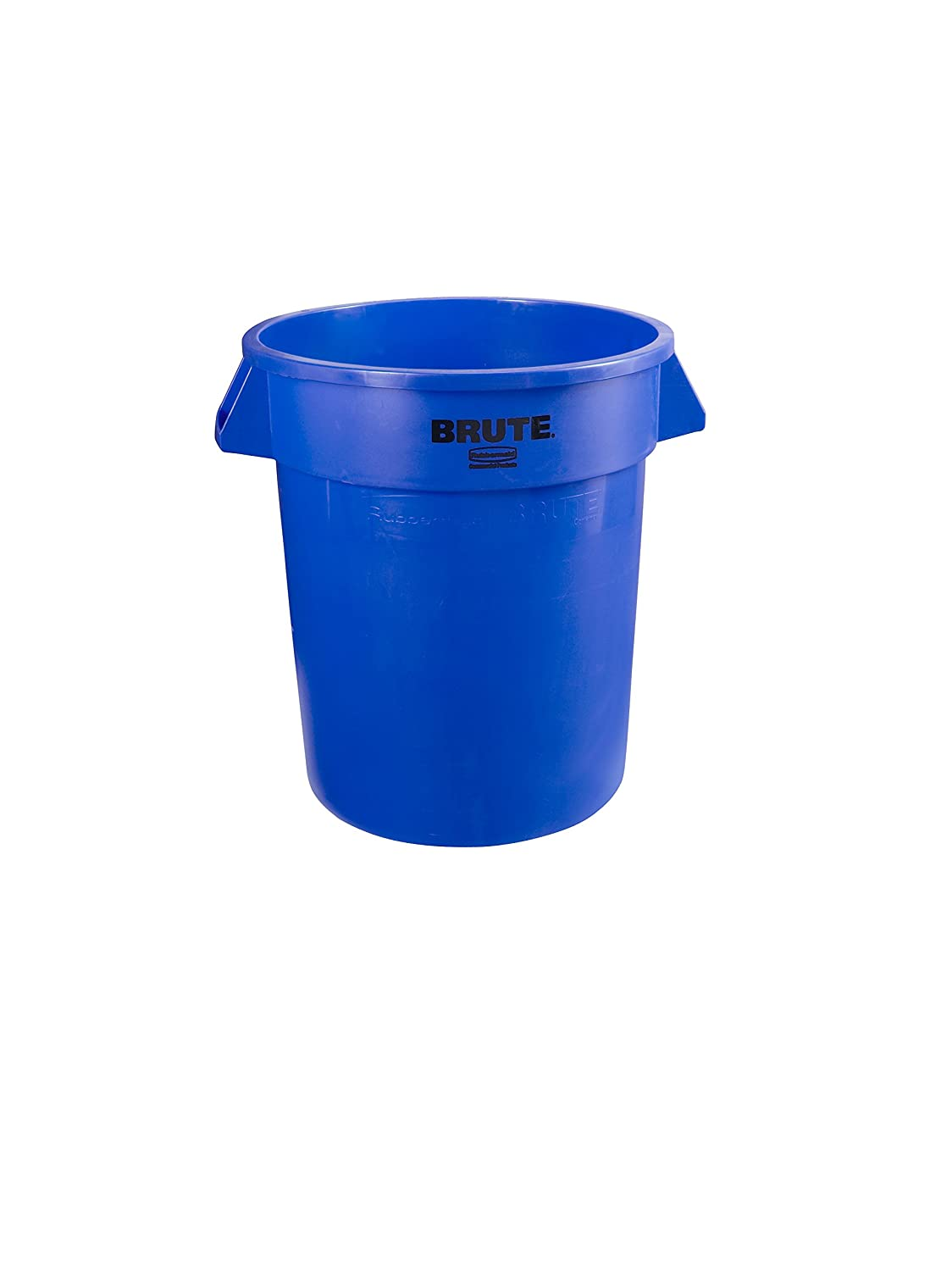 Rubbermaid Commercial 1779699 BRUTE Heavy-Duty Round Waste/Utility Container, 10-gallon, Blue