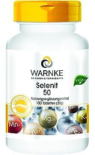 Selenita 50 – selenita sódica con 50 μg de selenio – 100 comprimidos – artículo vegetariano
