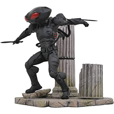 DIAMOND SELECT TOYS DC Gallery: Aquaman Black Manta PVC Figure, Multicolor: Toys & Games
