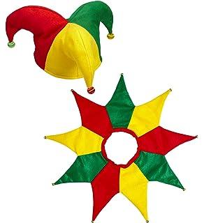 Widmann-WDM05386 Giullare Collare Cappello e Copricapi Vari Party Carnevale  689 e38c923edd8f