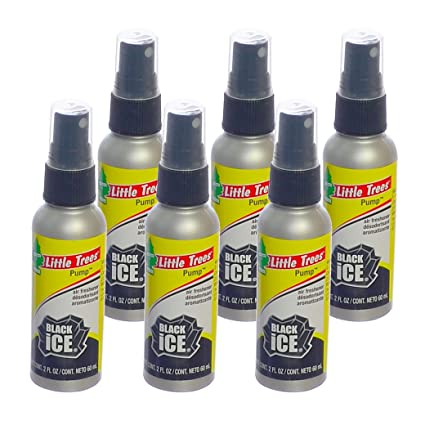 office air freshener. Little Trees 2 Oz. Pump Spray Car, Home And Office Air Freshener, Black Freshener M