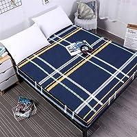 YWCXMY-LDL Bedruckter wasserdichter Matratzenbezug, schmutzabweisender und matratzenfester elastischer Matratzenbezug (Color : 02, Size : 140x200x30cm)
